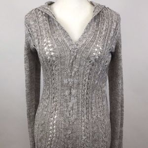 Tommy Bahama Brown White V-Neck Sweater S/P